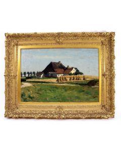 Derk Wiggers, West-Friese boerderij, 1913