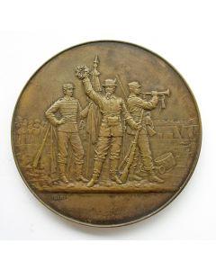 [Frankrijk] Prijspenning voor scherpschutters door A Bertrand,  ca. 1900