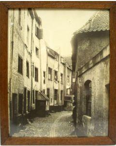 Foto van de Floddergats in Venlo, door Paul Pellens, ca. 1925