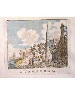Kopergravure, Durgerdam, 18e eeuw