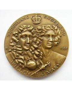 Penning, 300-Jarige herdenking van de oversteek naar Engeland van Willem III en Mary, 1988.