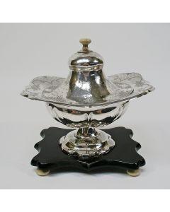 Zilveren tabakspot, 19e eeuw