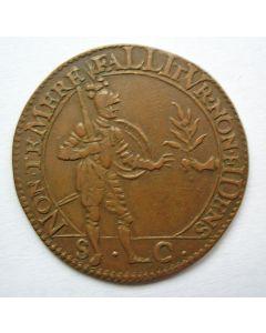 Rekenpenning Dordrecht, 1607, Vredesonderhandelingen.