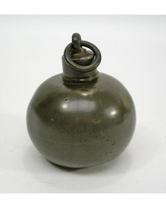 Tinnen moffenkruikje, 19e eeuw
