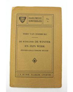 Theo van Doesburg, 'De schilder De Winter en zijn werk. Psycho-analytische studie', 1916