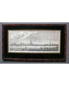 Middelburg, gravure, ca. 1760