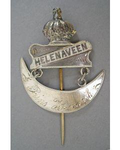 Zilveren draagteken Helenaveen, ca. 1902