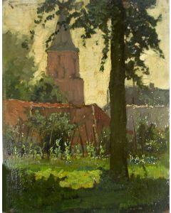 Eugène Lücker, De kerk van Hees (bij Nijmegen)