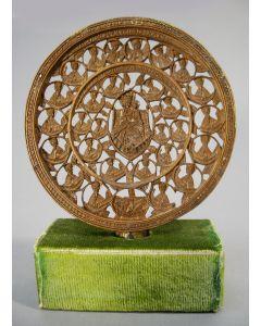 Palmhouten religieus snijwerk, Griekenland, 18e/19e eeuw