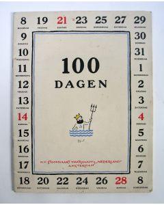 Jo Spier, '100 dagen', uitgave Stoomvaart Maatschappij 'Nederland', 1939