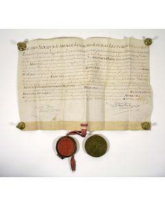 Doctorsbul van Arend Bisdom, Leiden 1793