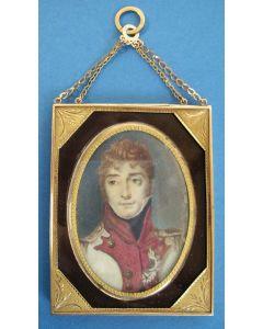 Portretminiatuur, Lodewijk Napoleon, koning van Holland, ca. 1810