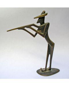 Hagenauer bronsje, jager, ca. 1925