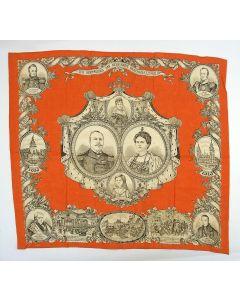 Herdenkingsdoek, 100 jaar Koninkrijk, 1913