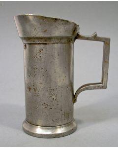 Tinnen maat, 2 deciliter, Den Bosch 1902
