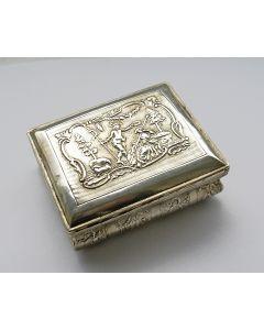 Zilveren tafelsnuifdoos, Adrianus Kuylenburg, Schoonhoven 1795