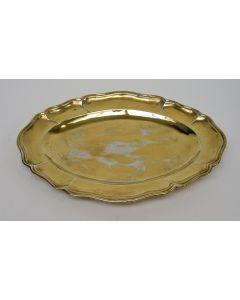 Verguld zilveren blaadje, Augsburg, 1769/1771