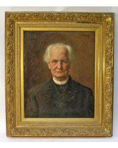 J.C. Wijlacker, portret van Henricus Nijgh, oprichter van de NRC en van de Uitgeverij Nijgh & van Ditmar.