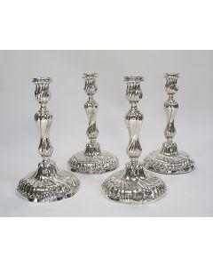 Vier zilveren kandelaars, Van Kempen, 1887