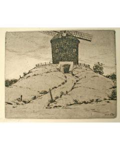 Willem Witjens, Molen bij Zeddam, ets