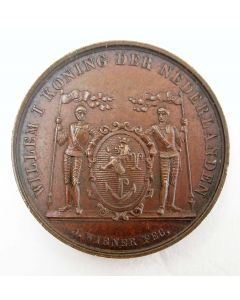 Penning, Venlo onder Nederlands gezag teruggebracht, 1839