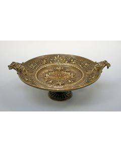 Bronzen tazza. 19e eeuw