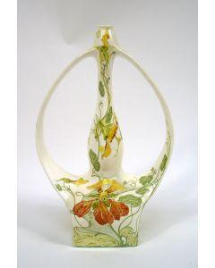 Rozenburg eierschaal porseleinen vaas, Sam Schellink, 1904