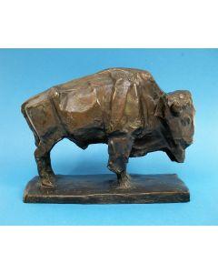 Lambertus Zijl, 'Bison', bronzen sculptuur, 1913