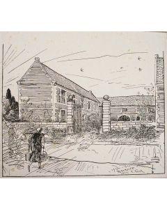 Willem van Konijnenburg, De Raarhof, Meerssen, 1920.