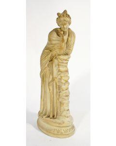 Polyhymnia, gipsmodel, 19e eeuw