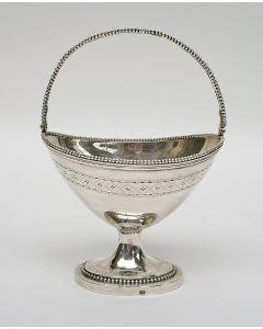 Empire zilveren suikervaas, Wouter Verschuur, Amsterdam 1800