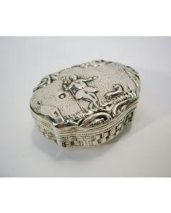 Zilveren snuifdoos, Willem Lobensteijn, Schoonhoven 1886