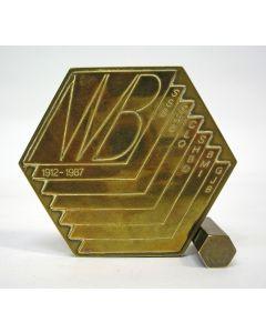 Nederlandse Vereniging van Bibliothecarissen 75 jaar, 1987 [door Willem Noyons]
