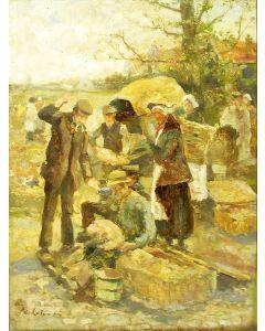 Adriaan de la Rivière, Markttafereel
