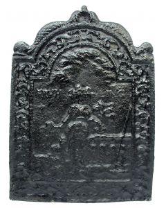 Gietijzeren haardplaatje, ca. 1700