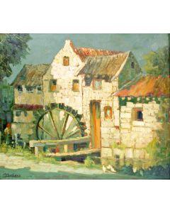 Guillaume Eberhard, Limburgse watermolen