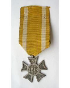 Het Zilveren Kruis 1813-1815