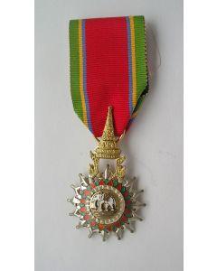 [Thailand] Onderscheiding Ridder in de Orde van de Witte Olifant