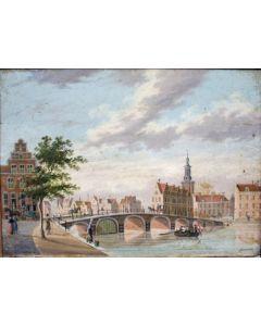 J. Schoemakers, Stadsgezicht, ca. 1800