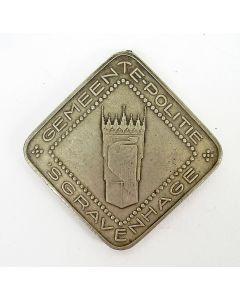 Legitimatiepenning Agent van Politie, Gemeente Den Haag, 1924 [Chris van der Hoef]