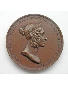 Penning op het overlijden van Koningin Anna Paulowna, 1865