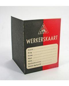 NSB 'Werkerskaart'