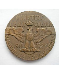 Penning ter gelegenheid van de 20-jarige herdenking van de Italiaanse overwinning in de Eerste Wereldoorlog, 1938