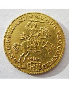 Holland, halve gouden rijder 1760