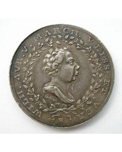 Penning ter gelegenheid de inhuldiging van prins Willem V als markgraaf van Vlissingen en Veere, 1766