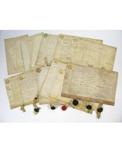 Koopakten en documenten met betrekking tot de Buitenplaats Zuiderwijk te Beverwijk, 18e eeuw