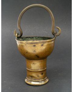 Bronzen wijwateremmertje, Vlaanderen of Rijnland, 15e/17e eeuw