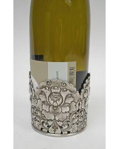 Djokja zilveren wijnfleshouder