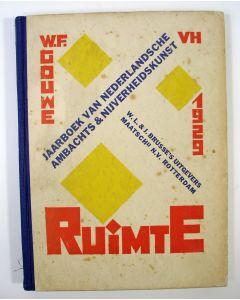 Jaarboek van de Nederlandsche Ambachts- en Nijverheidskunst, 1929, Ruimte