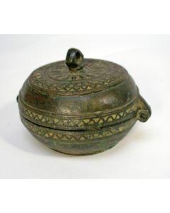 Bronzen sirihdoos, 18e/19e eeuw
